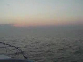 2006 Early morning crossing to Grand Haven 1st Sunrise from:Dotcomd