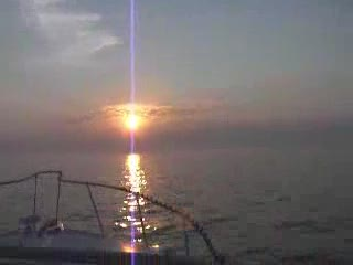 2006 Early morning crossing to Grand Haven 3rd Sunrise from:Dotcomd