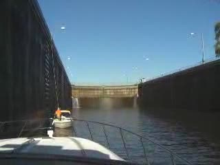 Riding down the lockport Lock from:Dotcomd