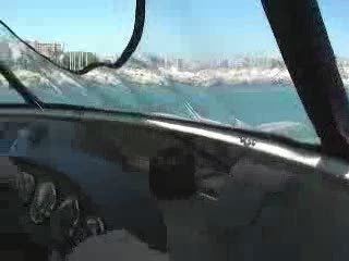 39' Carver 396 Helm Dashboard View Running on Plane Video Preview from:DotComd