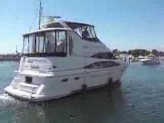 39' Carver 396 Aft View Video Preview from:DotComd